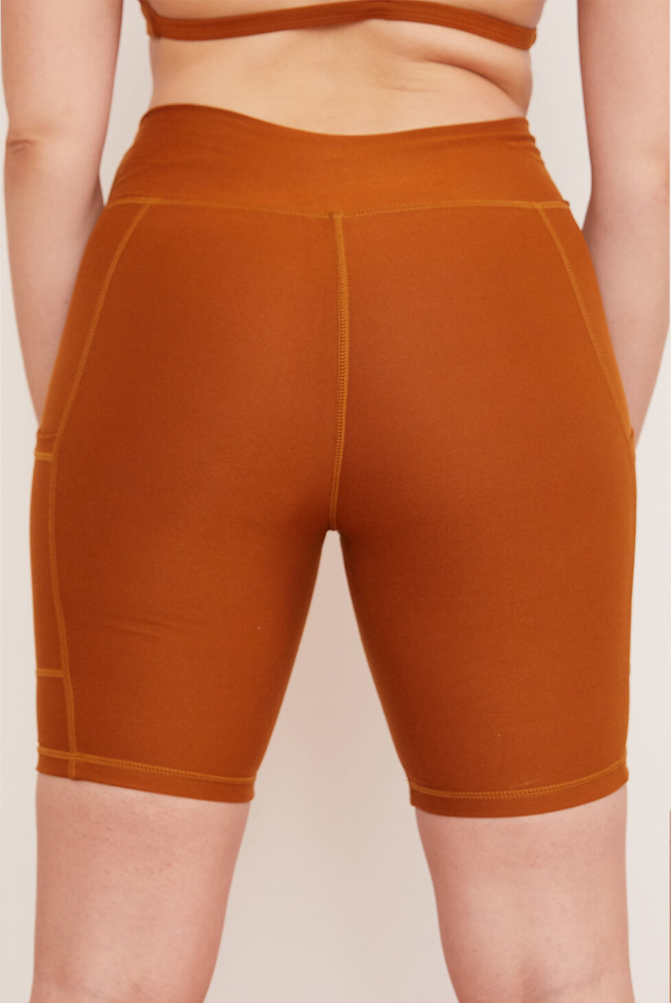 Pocket Bike Short | Turmeric