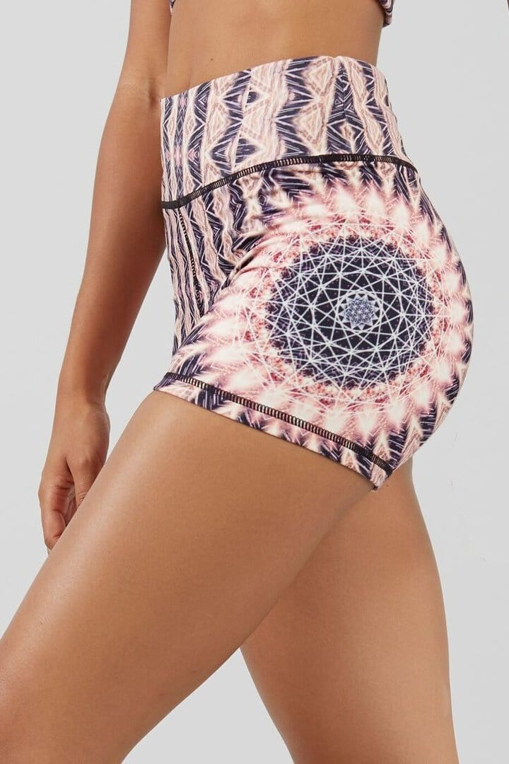 Heliocentric High-Waisted Shorts