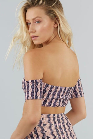 Heliocentric Off Shoulder Top
