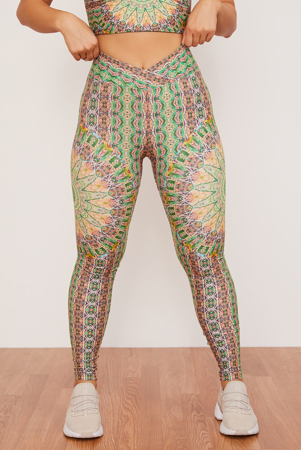 Fauna Ruched Crossover Legging