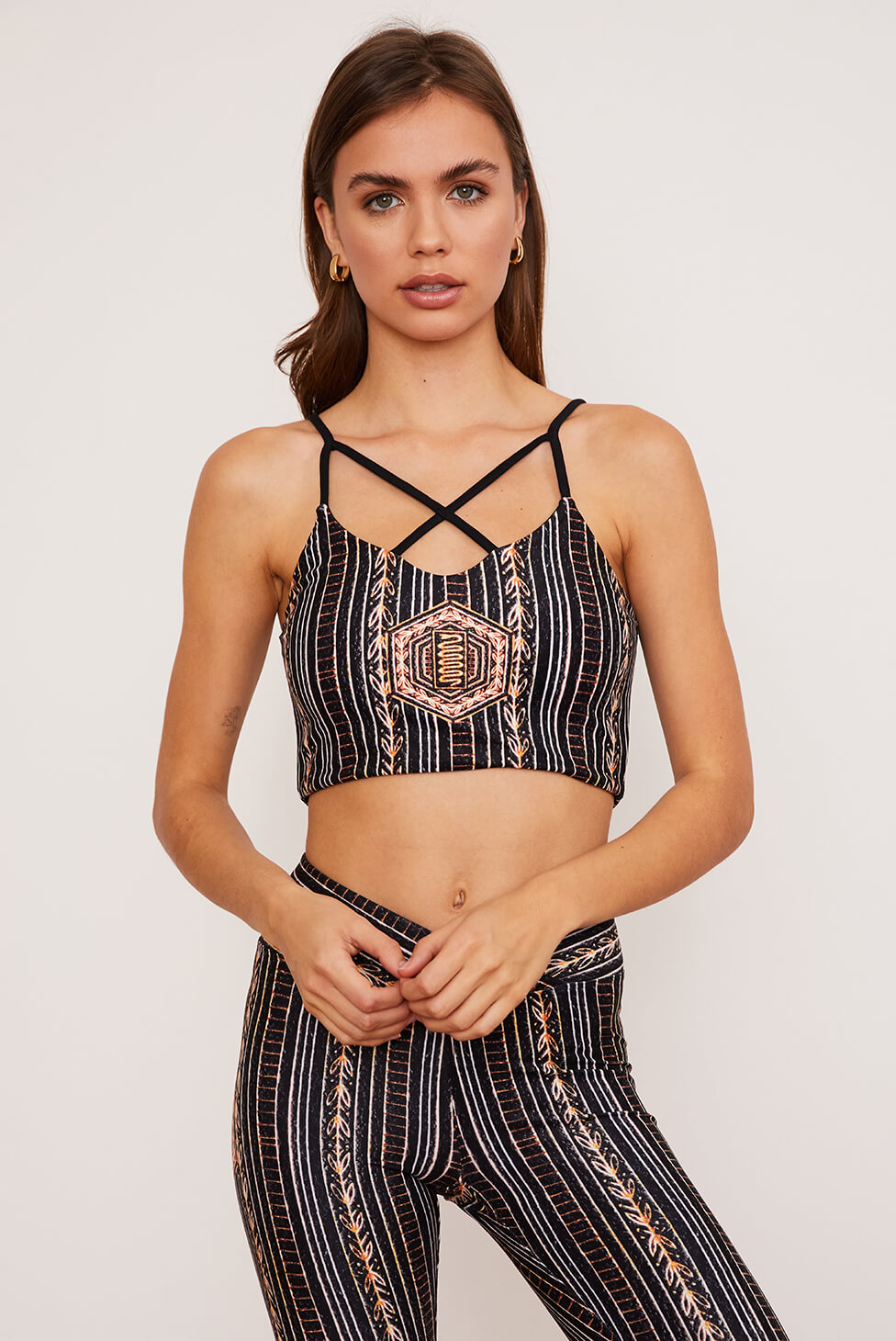 Zephyr Crisscross Four-Way Top