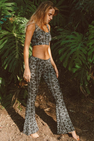 Liquid Onyx Bell Bottoms