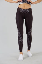 Midnight Flora Panel Legging