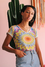 Nectar V-Neck Crop Tee