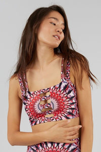 Shakti Front Cut-Out Top