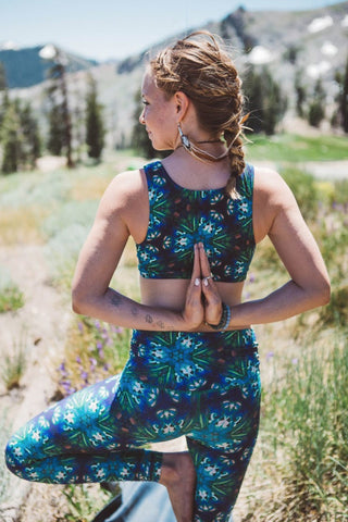 Triangulate Yoga Top