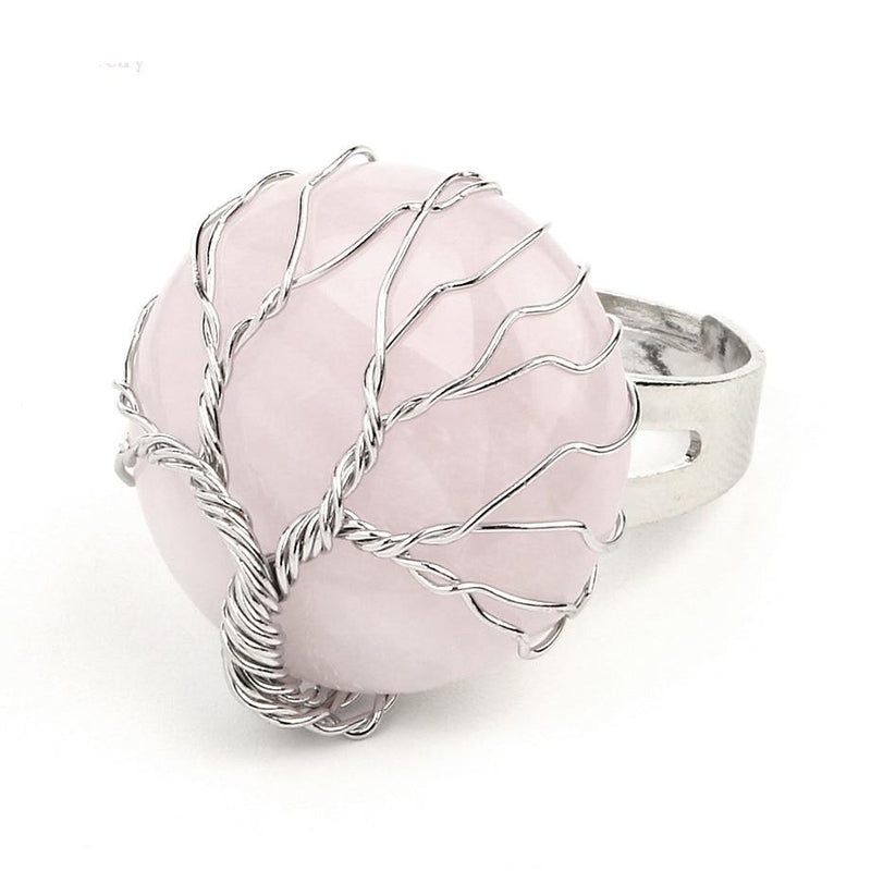 Tree of Blessings - Crystal Ring