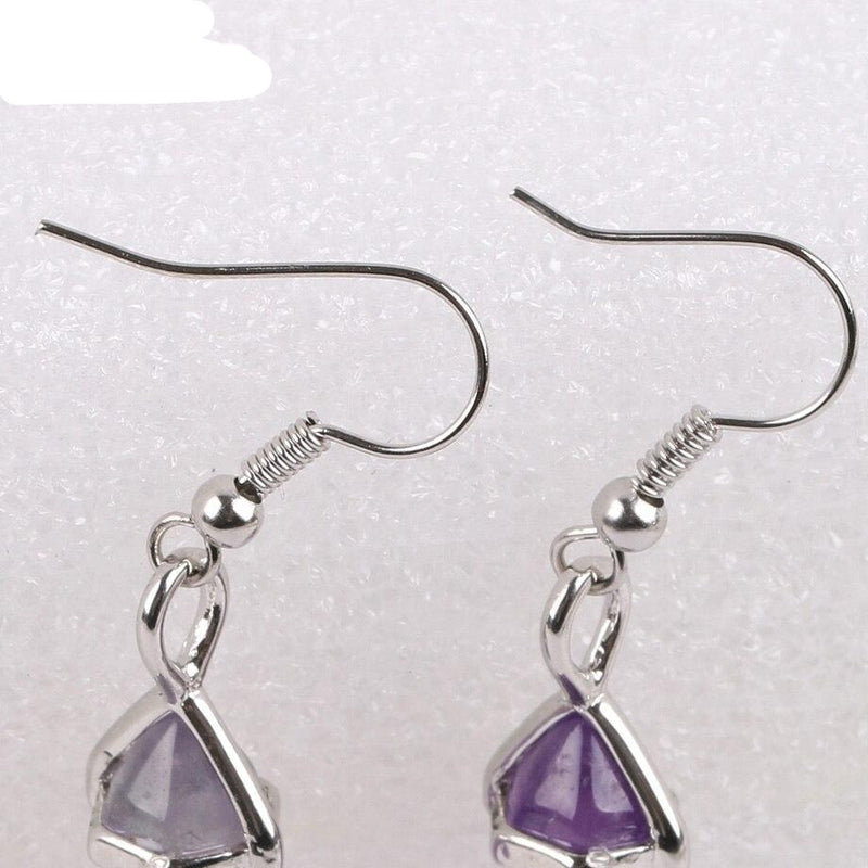 Crystal Shard Earrings - Crystal Earrings