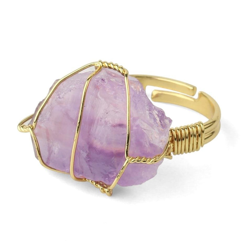 Abundance Crystal Ring - Crystal Ring