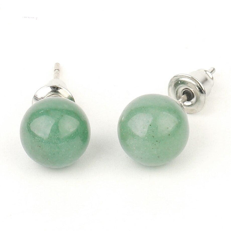 Crystal Ball Earrings - Crystal Earrings