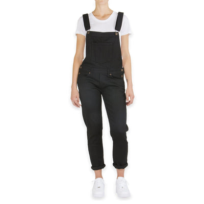 NAKED AND FAMOUS // BLACK OVERALLS  | OVERALLS at LOWELL MTL