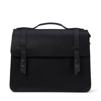 LOWELL // MCGILL OUTLAW LEATHER BLACK | BAGS at LOWELL MTL