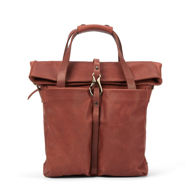LOWELL // MANSFIELD NAPPA LEATHER COGNAC | BAGS at LOWELL MTL