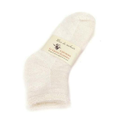 ANKLE LENGTH THERMAL SOCKS IVORY