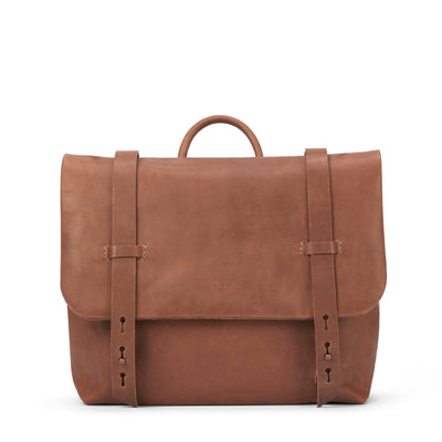 LOWELL // DEZERY NAPPA LEATHER TAN | BAGS at LOWELL MTL