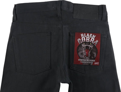 BLACK COBRA STRETCH SELVEDGE