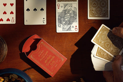 PLAYING CARDS RED