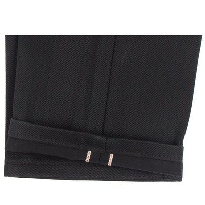 SOLID BLACK SELVEDGE