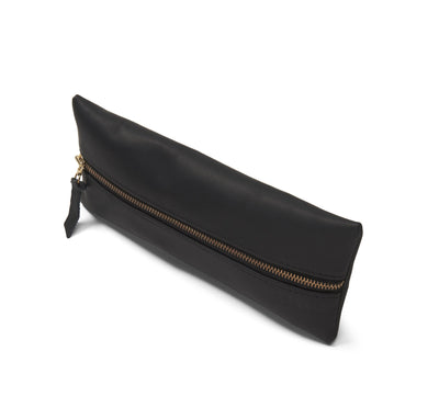 LOWELL // n. 204 NAPPA BLACK | POUCH at LOWELL MTL