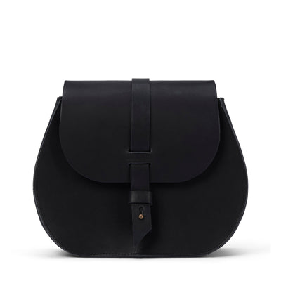 LOWELL // SAINT-GERMAIN OUTLAW LEATHER BLACK | BAGS at LOWELL MTL