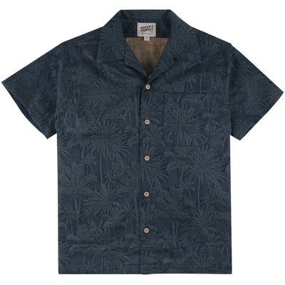 ALOHA SHIRTS DOUBLE JACQUARS TROPIC