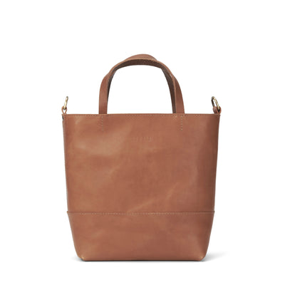 LOWELL // ATWATER OUTLAW LEATHER PETIT TAN | BAGS at LOWELL MTL