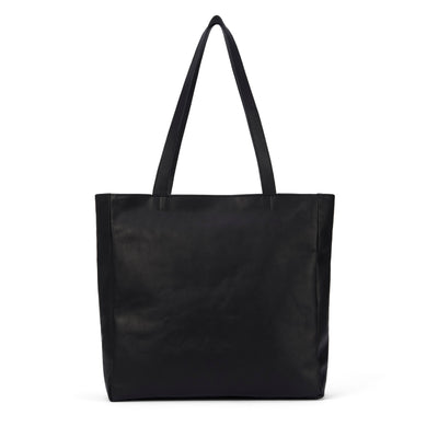 LOWELL // MAISONNEUVE NAPPA LEATHER BLACK | BAGS at LOWELL MTL