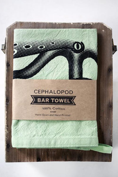 RCBOISJOLI // BAR TOWEL CEPHALOPOD | HOME at LOWELL MTL