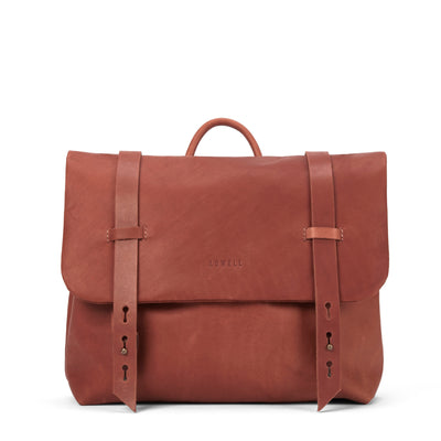 LOWELL // DEZERY NAPPA LEATHER COGNAC | BAGS at LOWELL MTL