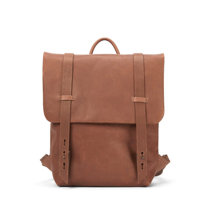 LOWELL // FAIRMOUNT NAPPA LEATHER TAN | BAGS at LOWELL MTL