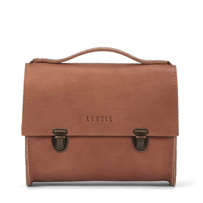LOWELL // SAINT-PAUL OUTLAW LEATHER TAN | BAGS at LOWELL MTL