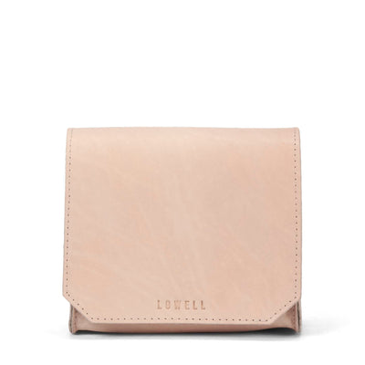 LOWELL // GUIZOT VEGGIE TANNED LEATHER NUDE | BAGS at LOWELL MTL