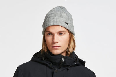 AUDVIK // BEANIE GREY | TUQUE at LOWELL MTL