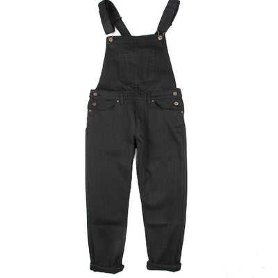 THE OVERALLS BLACK POWER STRETCH
