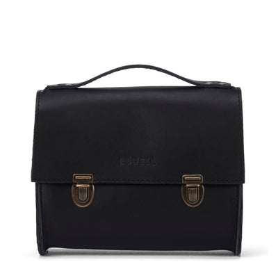 LOWELL // SAINT-PAUL OUTLAW LEATHER BLACK | BAGS at LOWELL MTL