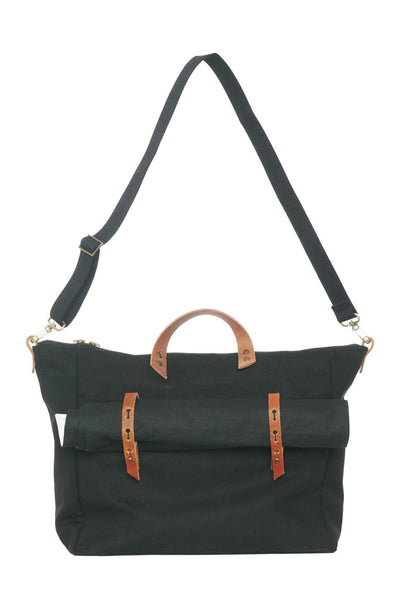 LOWELL // DANTE DIAPER BAG BLACK | BAGS at LOWELL MTL