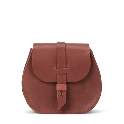 LOWELL // SAINT-GERMAIN OUTLAW LEATHER PETIT COGNAC | BAGS at LOWELL MTL