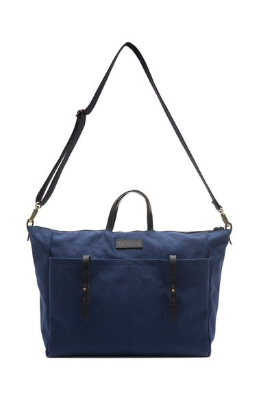 LOWELL // DANTE COTTON NAVY | BAGS at LOWELL MTL