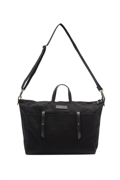 LOWELL // DANTE COTTON BLACK | BAGS at LOWELL MTL