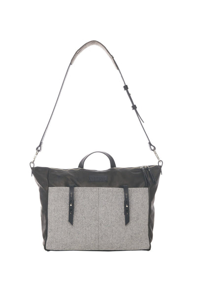 LOWELL // DANTE WOOL GREY | BAGS at LOWELL MTL