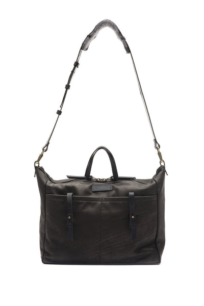 LOWELL // DANTE LEATHER BLACK | BAGS at LOWELL MTL