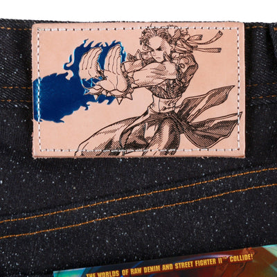"CHUN LI ""LIGHTNING LEG"" DENIM"