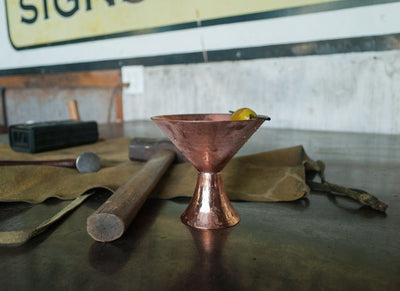 SATINI HAMMERED MARTINI CUP