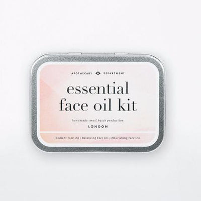 MEN'S SOCIETY // FACE OIL KIT  | COSMÉTIQUES / COSMETICS at LOWELL MTL