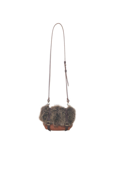 LOWELL // FRISCO RECYCLED FUR RACOON | FUR BAGS at LOWELL MTL