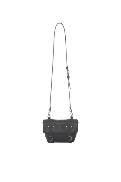 LOWELL // FRISCO LEATHER BLACK | BAGS at LOWELL MTL