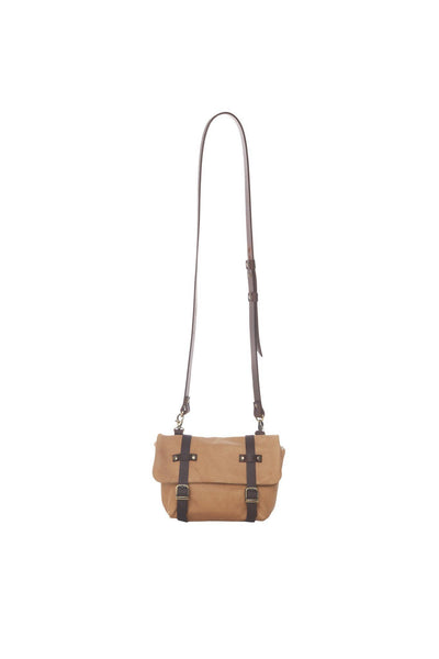 LOWELL // FRISCO LEATHER TAN | BAGS at LOWELL MTL