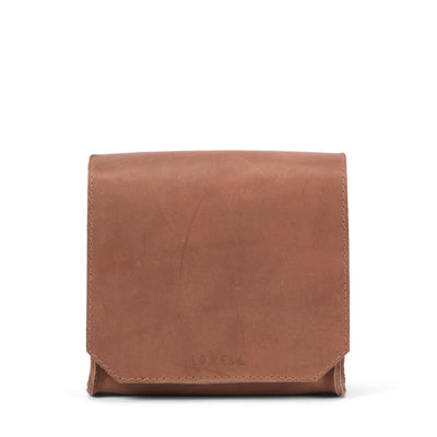 LOWELL // GUIZOT OUTLAW LEATHER TAN | BAGS at LOWELL MTL