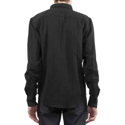 NAKED AND FAMOUS // BLACK SHIRT  | CHEMISES / SHIRTS at LOWELL MTL