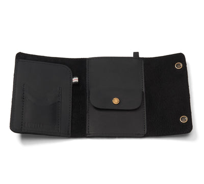 LOWELL // n. 106 NEWPORT BLACK | WALLET at LOWELL MTL